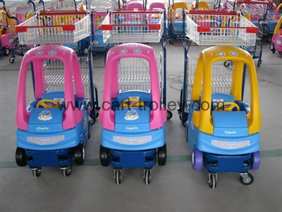 children shopping trolley