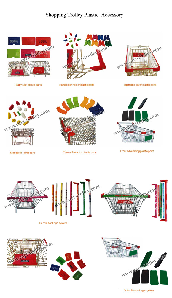 shopping trolley plastic  accessory